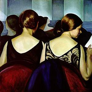 Prudence Heward, At the Theatre, 1928.